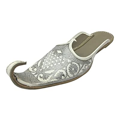 Step n Style Moroccan Traditional Handmade Leather Khussa Babouches Slippers for Men | Loafers & Slip-Ons