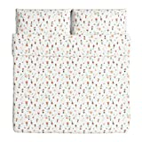 Ikea Rosenfibbla King Duvet Cover and Pillowcases Floral Patterned 803.302.66