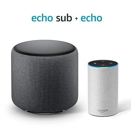 Echo Sub Bundle with Echo (2nd Gen) - Sandstone Fabric