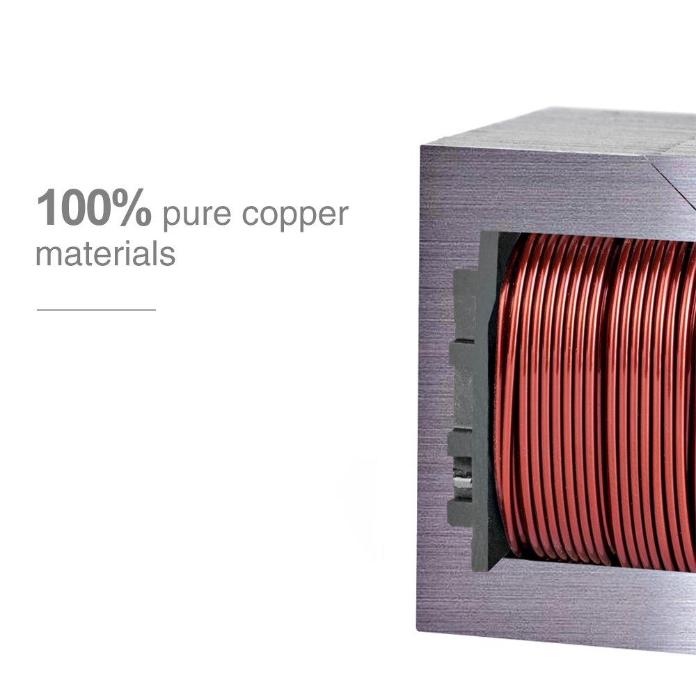 Metronic Impulse Bag Sealer Poly Bag Sealing Machine Heat Seal Closer with Repair Kit (8 inch) by Metronic (Image #3)