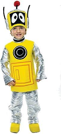 Yo Gabba Gabba Plex infantil Disfraz Robot – Talla S/86 cm ...