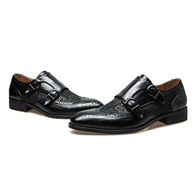amazon com jitai men s italian leather collection dress oxfords