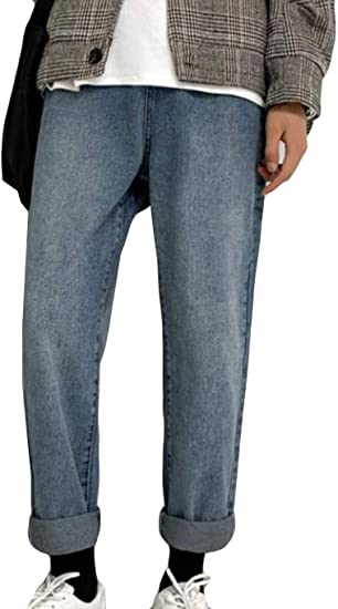 (BaLuoTe)メンズ ジーンズ デニムパンツ 秋 冬 ロングパンツ ストレート ストレッチ パンツ ジーンズ メンズ ファッション カジュアル ボトムス デニムパンツ