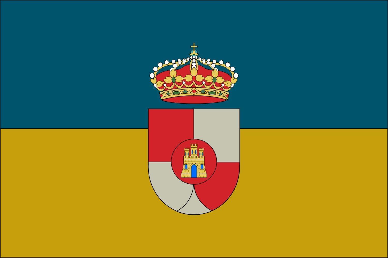 magFlags Bandera XL Villanueva de la Reina Jaén, Andalucía, España   Bandera Paisaje   2.16m²   120x180cm: Amazon.es: Jardín