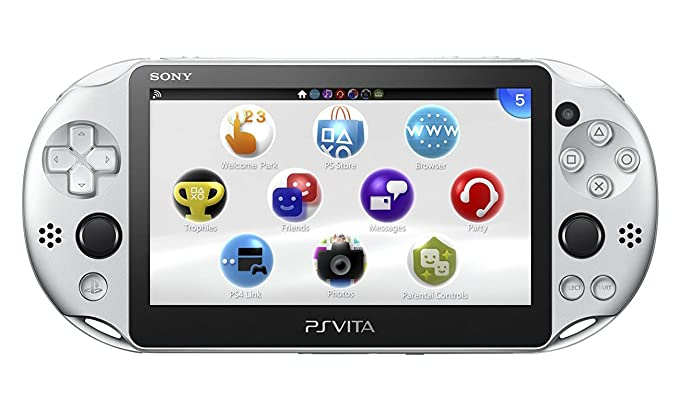PlayStation Vita Wi-Fiモデル シルバー (PCH-2000ZA25): Amazon ...