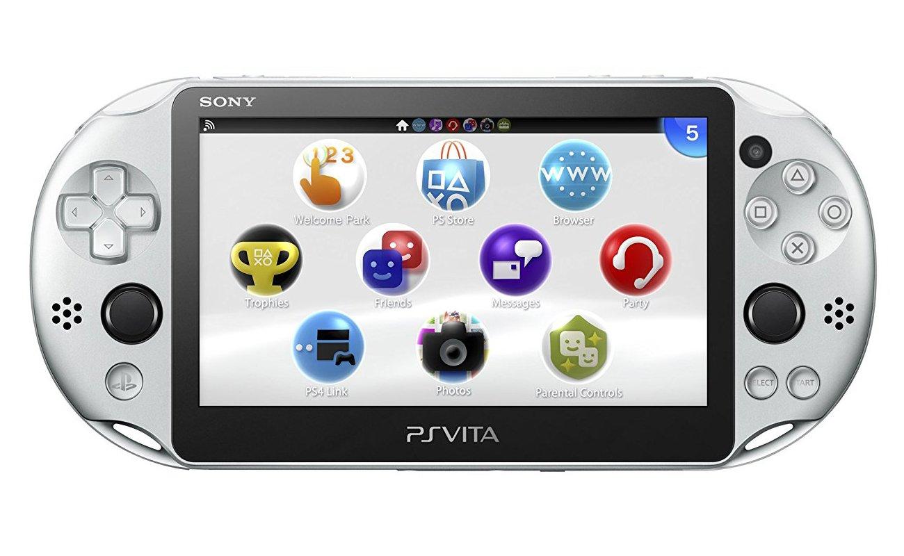 PlayStation Vita Wi-Fi Silver PCH-2000 ZA25 by PlayStation Vita (Image #1)