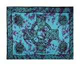 Celtic Sarong - Blue Cross - Color Will Vary, Less Than Perfect