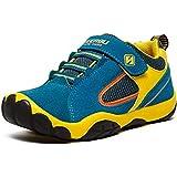 SAGUARO Jungen Trekking Wanderschuhe Kinderschuhe mit Klettverschluss Leicht Sport Schuhe Outdoor Laufschuhe Mädchen Turnschuhe Sneaker