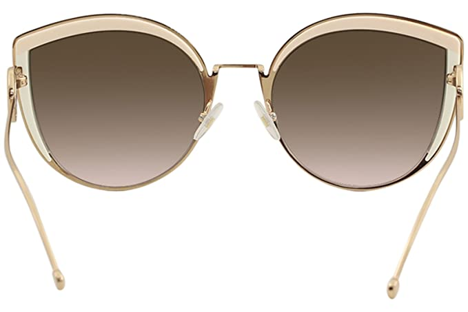 0346c50cdc90d Fendi FF0290 S 35J Pink FF0290 S Cats Eyes Sunglasses Lens Category 2 Size  58mm  Amazon.co.uk  Clothing