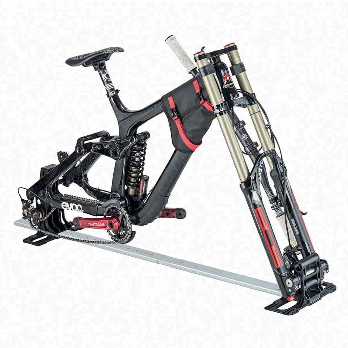 Evoc バイク用多機能スタンド 自転車 旅行用バッグ ほとんどの自転車/車軸に対応   B07J2R318D