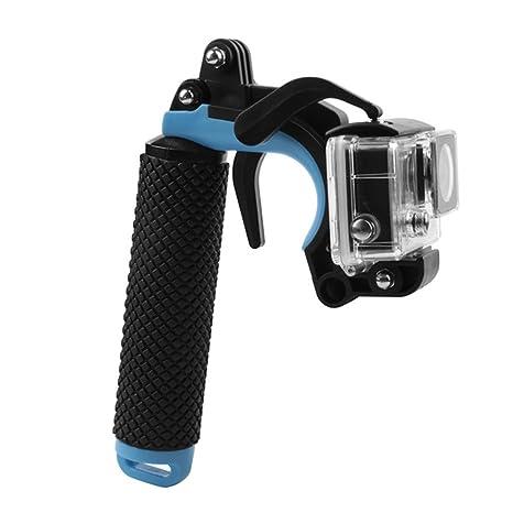 Vinciann Soporte Mango hueca flotador para GoPro Hero + gatillo + Tornillo Smartphone