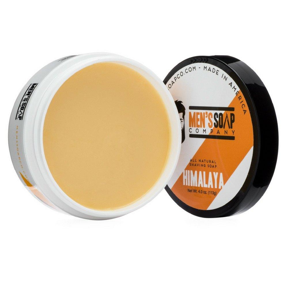 Amazon Com Men S Soap Company Shaving Soap 4 Oz Himalaya Shave Jar