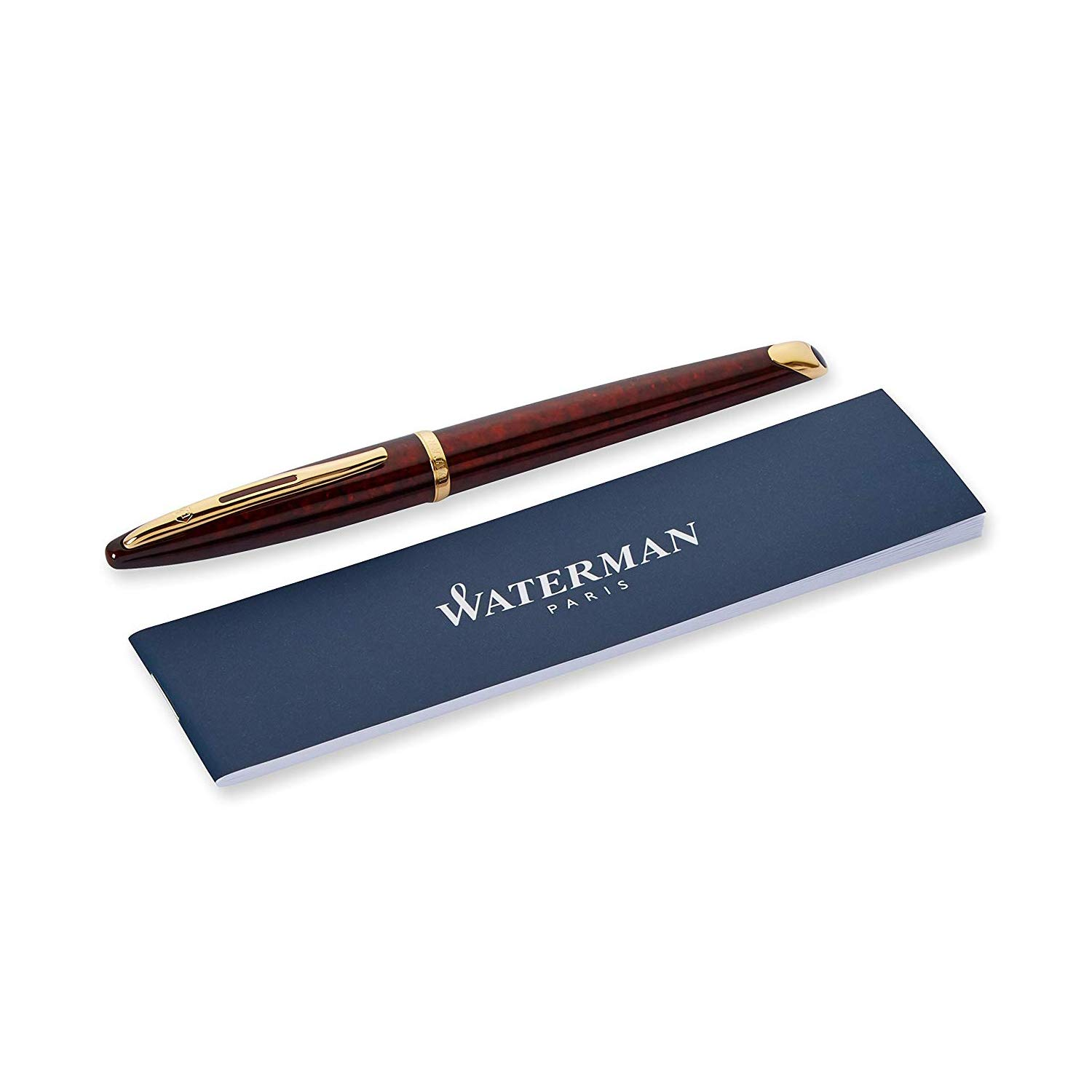 Waterman Carene Amber Shimmer Fountain Pen, Fine Point (S0700860) by Waterman (Image #5)