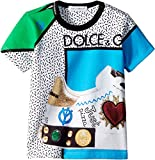 Dolce & Gabbana Kids Baby Boy's Scarpe Print T-Shirt (Infant) Turquoise 6-9 Months