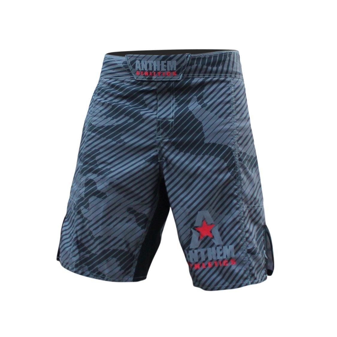Anthem Athletics RESILIENCE MMA Shorts - Grey Line Camo - 30''