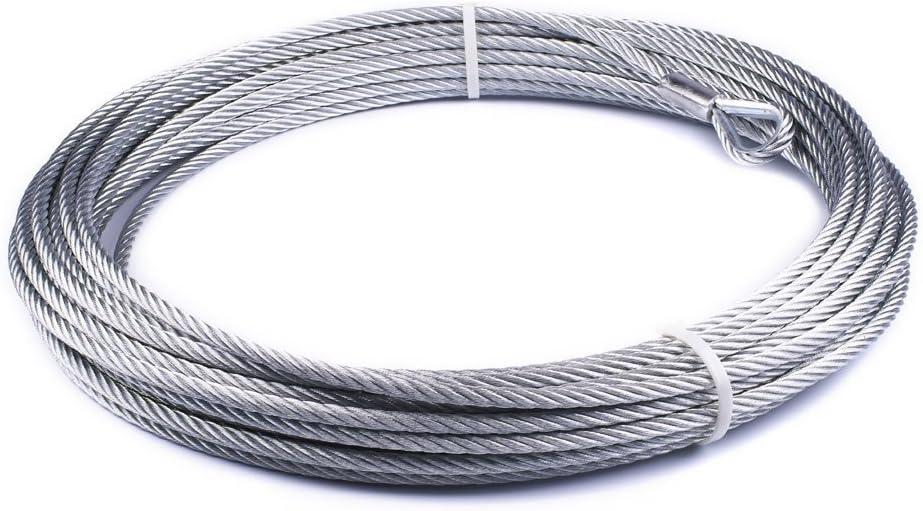 "B008JVY7BK WARN 86515 Wire Rope Replacement - 3/8"" X 94' 61ORaqD9SIL"