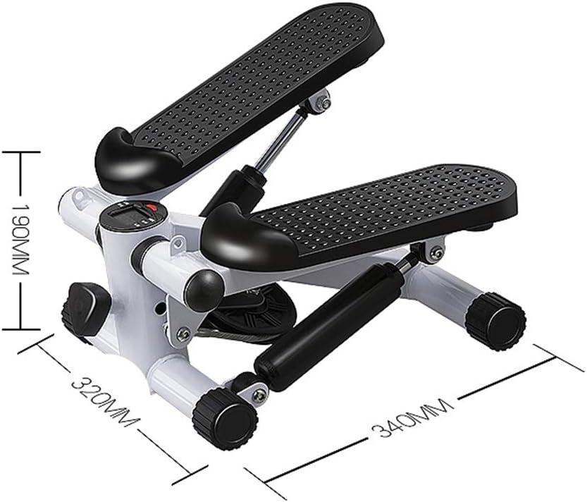 JWI Steppers M/énage Mute Multifonctions Pied Exercices V/élos for Hommes et Femmes de Montagne /Équipement de Remise en Forme de Petite Jambe Machines Color : C1, Size : 34x32x19CM