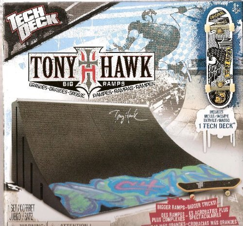 Tech Deck Tony Hawk Big Ramps Big Quarter ()