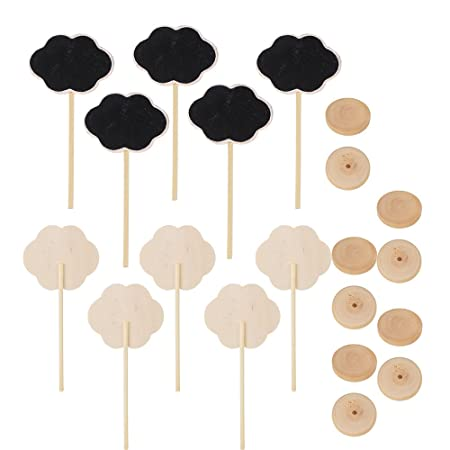 weone Wedding Party Decor de madera Mini pizarra pizarra ...