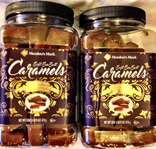 Members Mark Milk Chocolate Soft Sea Salt Caramels-31 oz (2 PK) by Members Mark