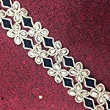 Decorative Border Lace Trim Floral Design Crafting Indian Sari Border Sewing Lace 3 Yrd