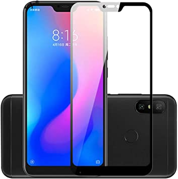 LZHANDA Protectores de Pantalla Tempered Glass Mi A2 Lite Glass 3D ...