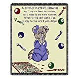 Bingo Player Prayer 2-Layer Throw Blanket