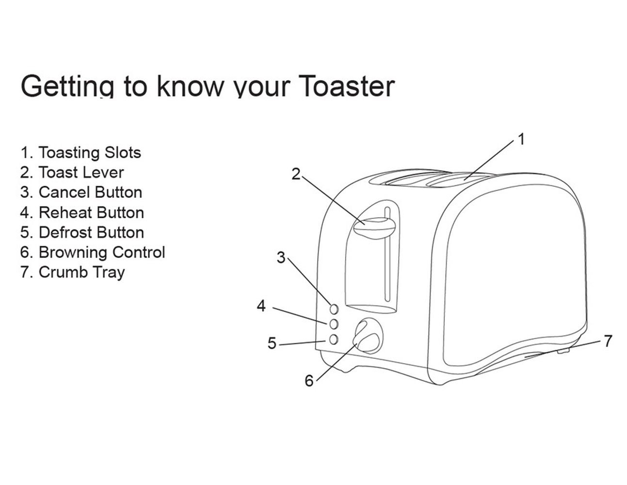 Simple Toaster Diagram