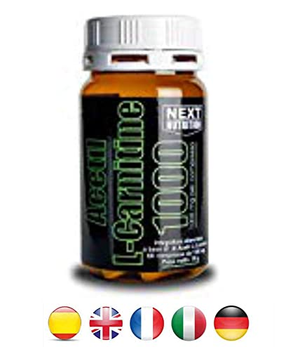 Acetil L-carnitina quema grasa 1000 mg | 1 paquetes gr 78 60 tabletas |