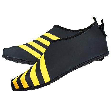 YUYUGO Zapatillas de Natación Sandalias de Neopreno para Hombre Zapatos de Piel Agua Buceo Deporte Calcetines