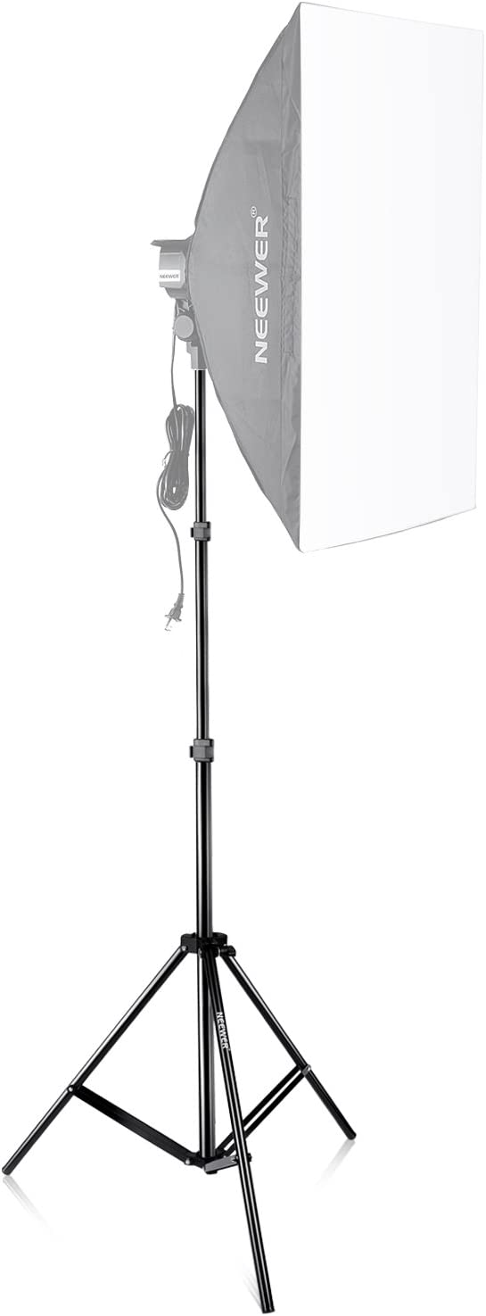 Neewer 3-pack Stainless Steel Light Stand with 1//4-inch to 3//8-inch Universal Adapter 39-102 inches//99-260 centimeters Foldable Support Stand for Studio Softbox,Umbrella,Strobe Light,Reflector,etc