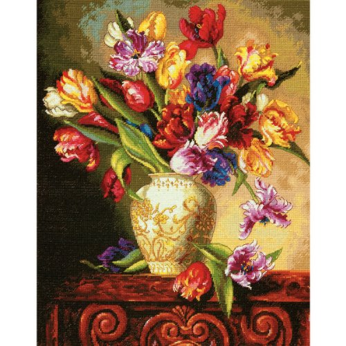 Collection Cross Stitch (Dimensions Crafts The Gold Collection Counted Cross Stitch Kit, Parrot)