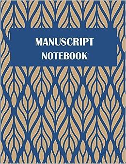 Manuscript Notebook Music Composition Books Music Manuscript Paper