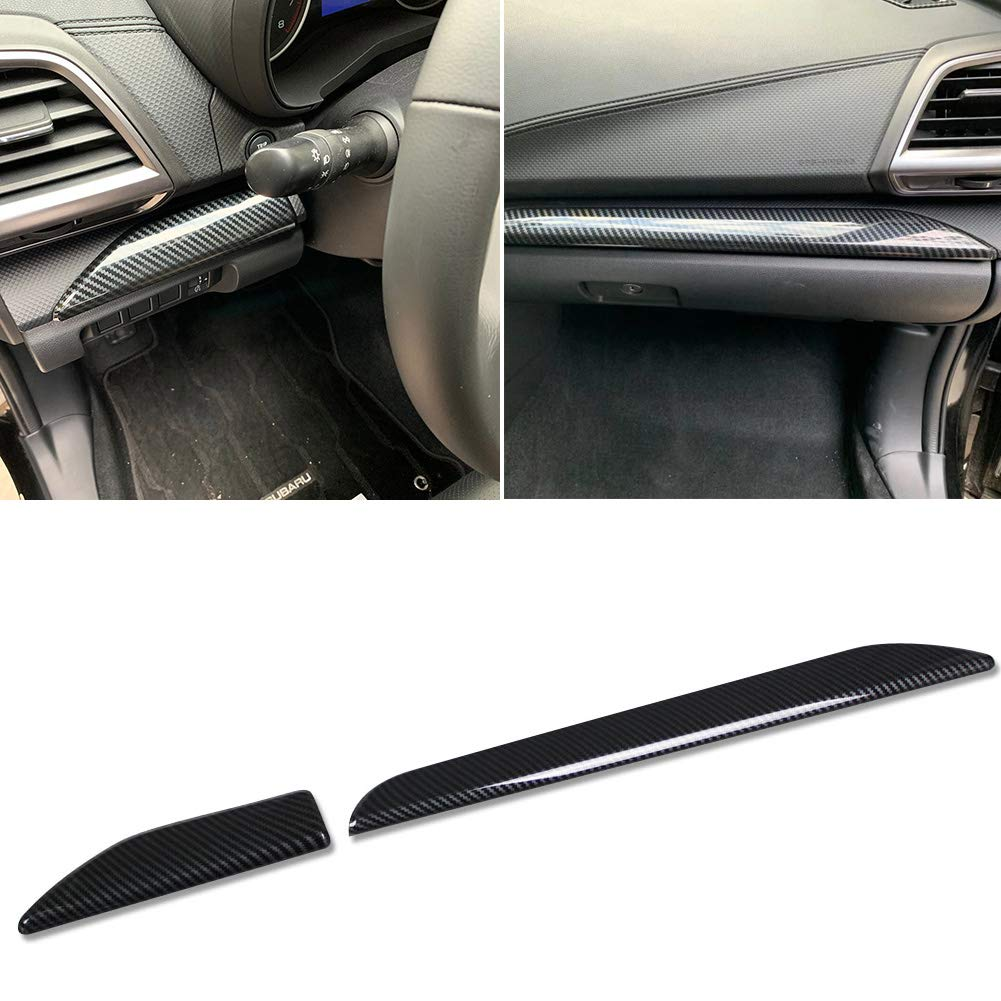Beautost Fit for Subaru 2019 New Forester Center Console Dashboard Molding Cover Trims Matte