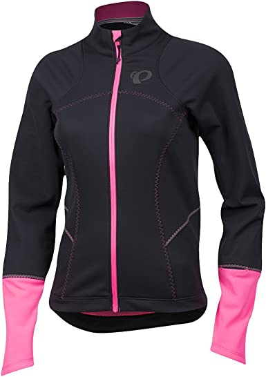 New Pearl Izumi Women/'s Elite Escape Softshell Jacket Cycling Bike Large Black