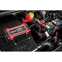 Absaar 158000 batterijlader Evo 1.0 6/12 V, rood/zwart, 1 A