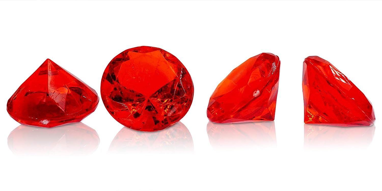 Brynnberg Dekosteine Diamanten Mix Mix Mix - Größe 10-30mm - Farben  Blau, Grün, Rot, Rosa, Orange, Farblos - Gewicht  4500g B07Q617DWN Granulate fca86f