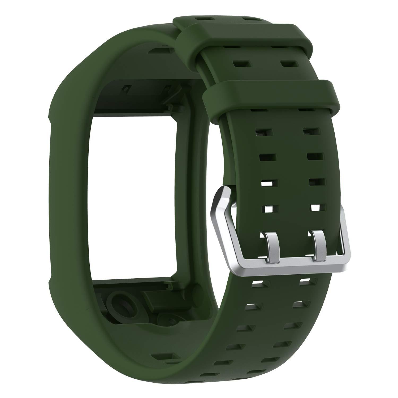 Bemodst - Correa de Reloj para Pulsera Polar M600, Correa de Silicona de Repuesto para Reloj de Pulsera Polar M600 Fitness Tracker