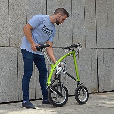Ossby Arrow Bicicleta Plegable, Unisex Adulto, Pistacho, Talla ...