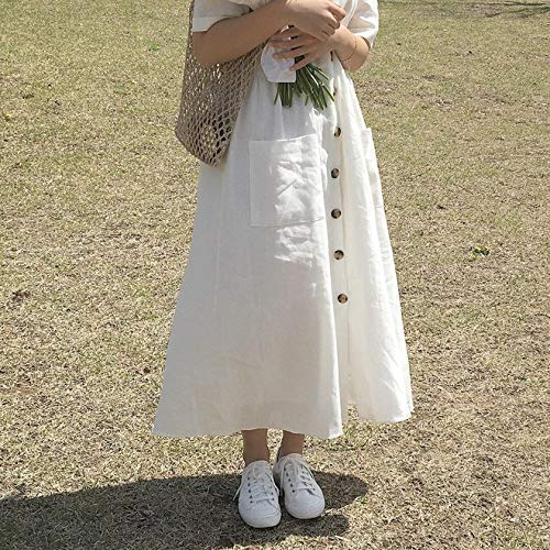 Loose dress white summer/women clothes/chic