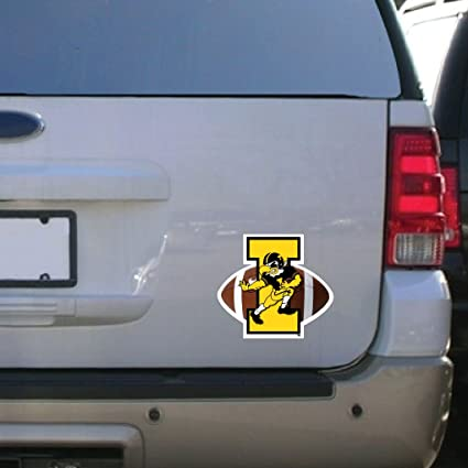 Amazon Com Victorystore Iowa Hawkeye Car Magnet Herky Football