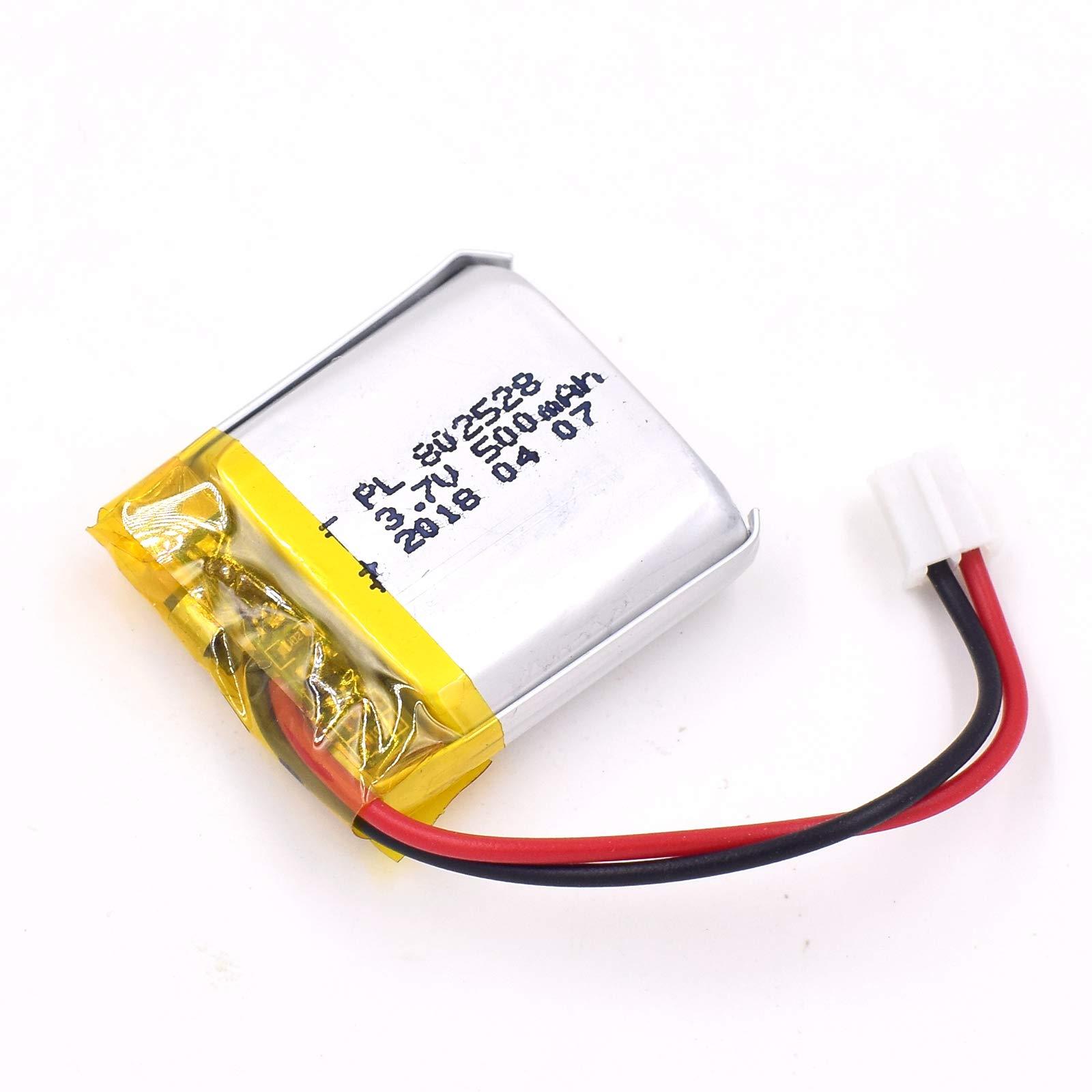 Bateria Lipo 3.7v 480mah 802528