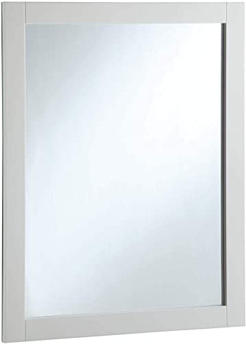 DESIGN HOUSE DHI 24X30 WALL MIRROR, White 547216