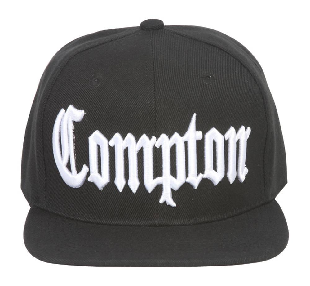 Compton Adjustable Snapback w/ Back Embroidery