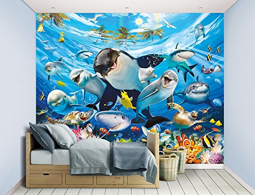 Walltastic WT45279 Sea Adventure Wall Mural, Multicolor