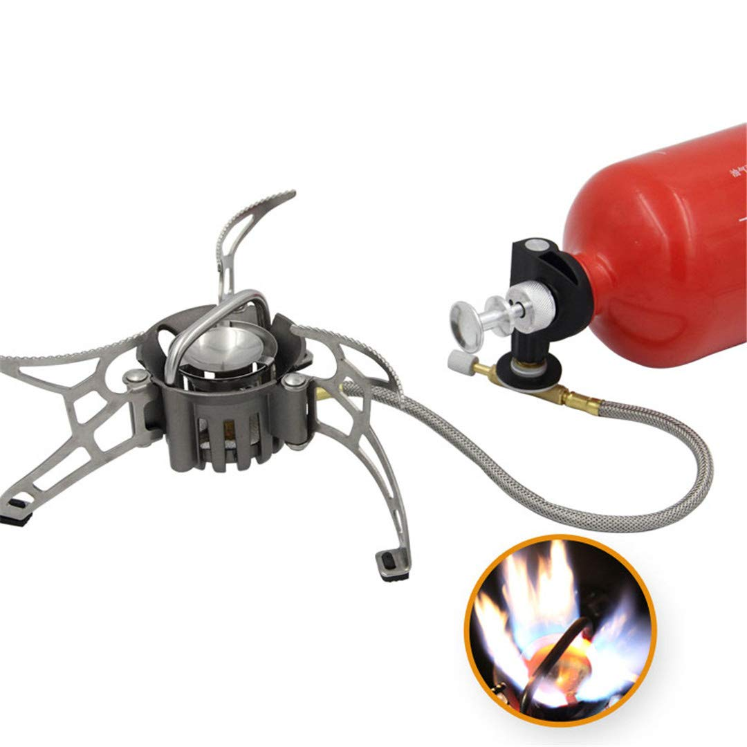 H-Henrne Newest Outdoor Petrol Stove Burners and Portable Oil and Gas Multi Fuel Stoves