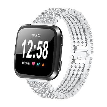 Correa de reloj para Fitbit Versa, VNEIRW para mujeres y hombres, correa de reloj