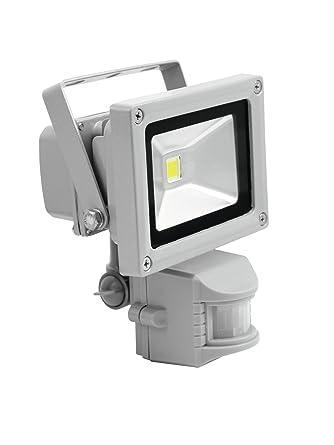 Set de 2 x Foco LED con sensor de movimiento SURTUR 230V / 10W, 1