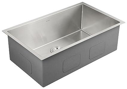 AguaStella AS3018 Kitchen Sink Stainless Steel 30 Inch Undermount ...