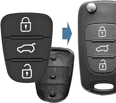 2x Auto Schlüssel Funk Fernbedienung Tastenfeld 3 Elektronik
